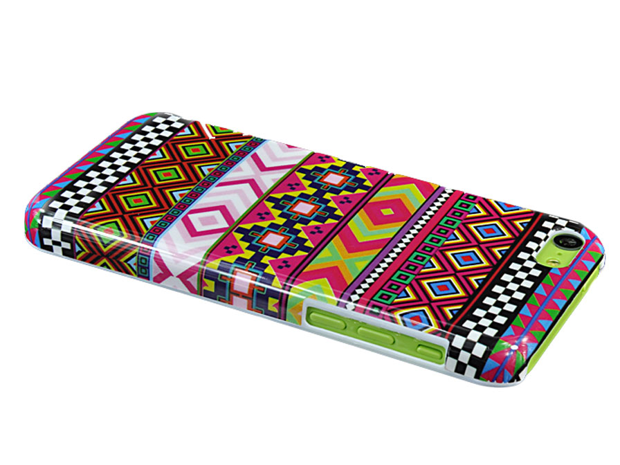 Aztec Hard Case Hoesje voor iPhone 5C