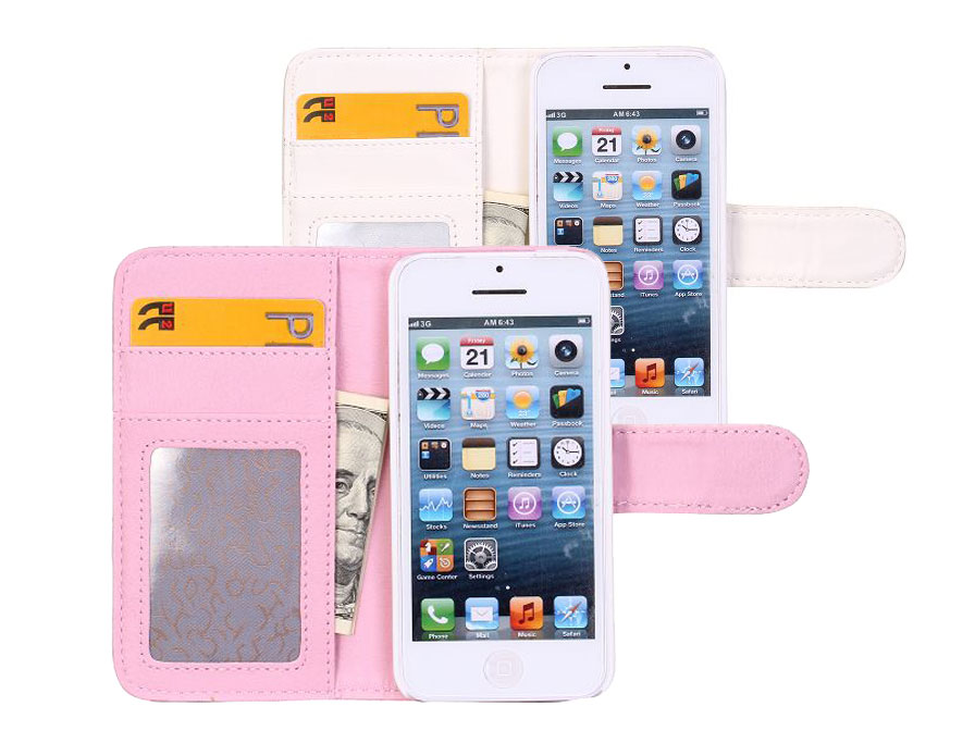 Coco Sideflip Wallet Case Hoesje voor iPhone 5C