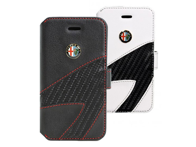 Alfa Romeo Book Case - Hoesje voor iPhone 5/5S