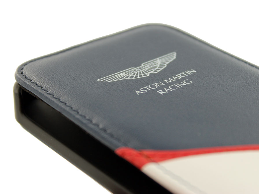 Aston Martin Leather Flip Case - iPhone SE/5s/5 hoesje