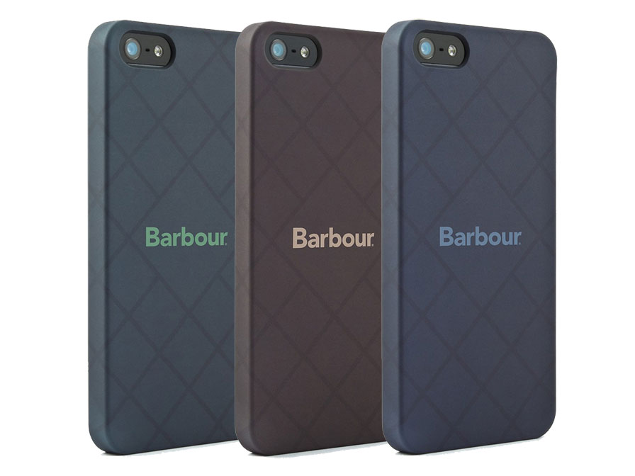 Barbour Hard Case - iPhone SE / 5s / 5 hoesje