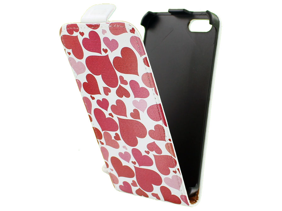 Call Candy Pure Love Flip Case - Hoesje voor iPhone 5/5S
