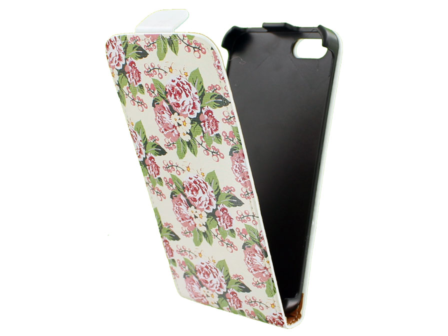 Call Candy Floral Flip Case - Hoesje voor iPhone 5/5S
