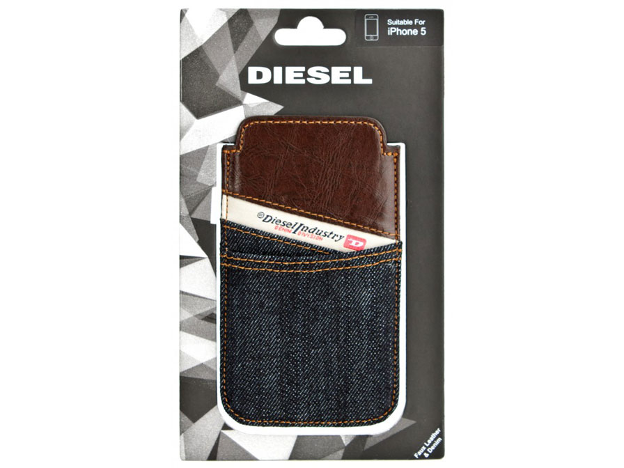 Diesel New Hastings Sleeve - iPhone SE/5S/5C hoesje