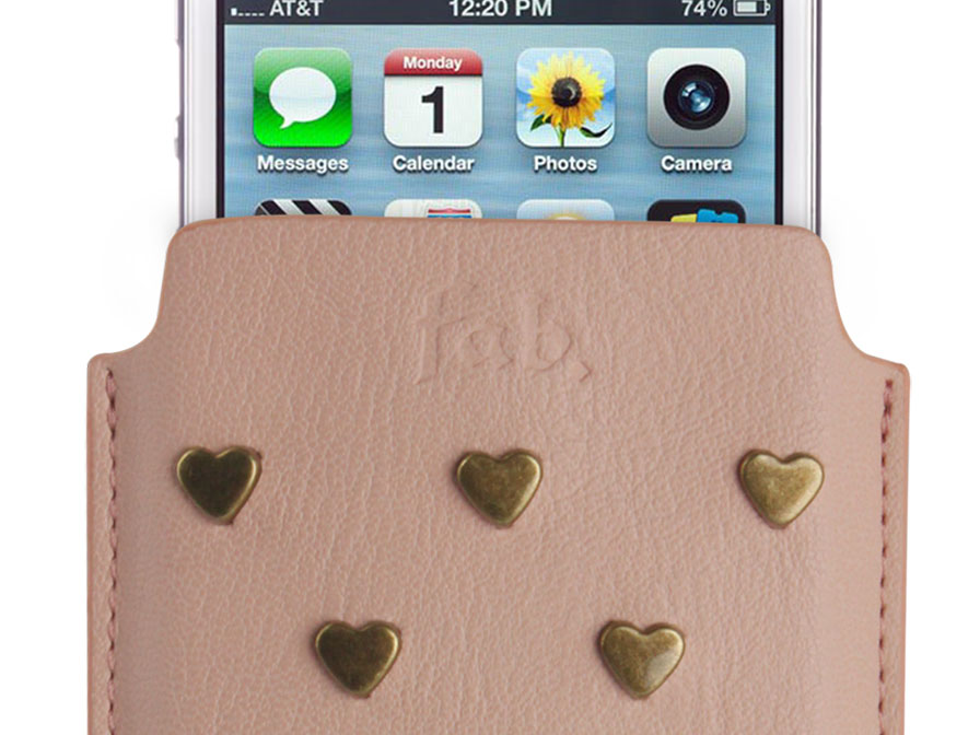 Fab. Studs Sleeve - iPhone SE / 5s / 5 hoesje