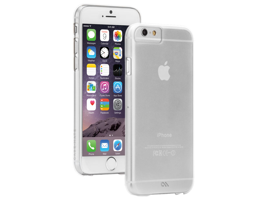 Case-Mate Barely There Crystal - Hard Case voor iPhone 6/6S