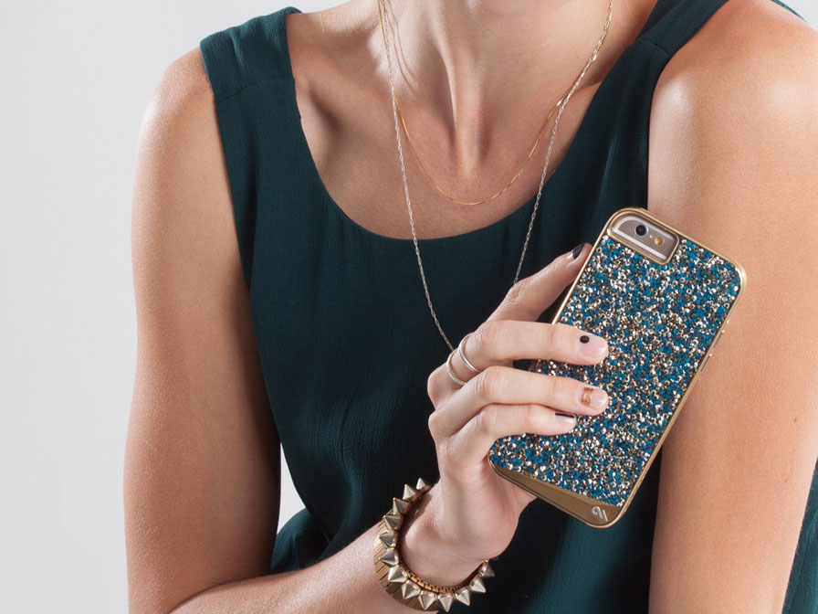 Case-Mate Brilliance Turquois Case - iPhone 6/6S Hoesje