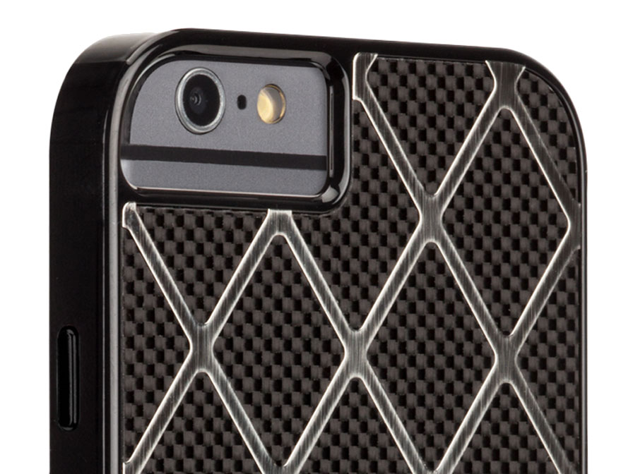 Case-Mate Carbon Alloy Case - iPhone 6/6S Hoesje