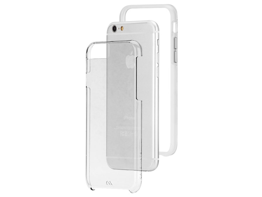 Case-Mate Naked Tough Case - iPhone 6/6S Hoesje