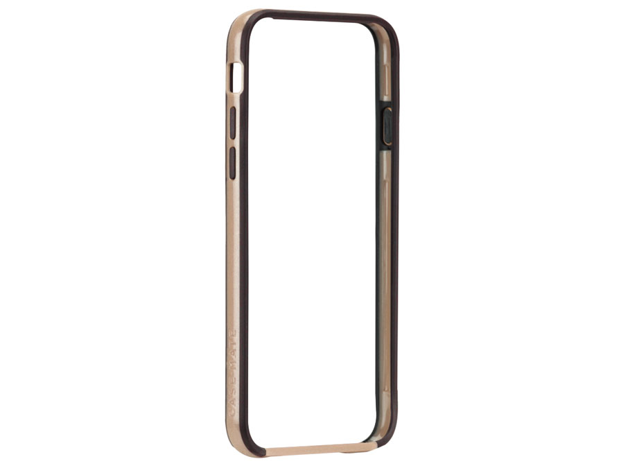 Case-Mate Tough Frame Gold - Bumper Case voor iPhone 6/6S