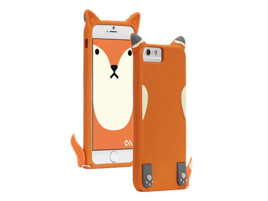 Case-Mate Creatures Case 'Fox' - iPhone 6/6S Hoesje