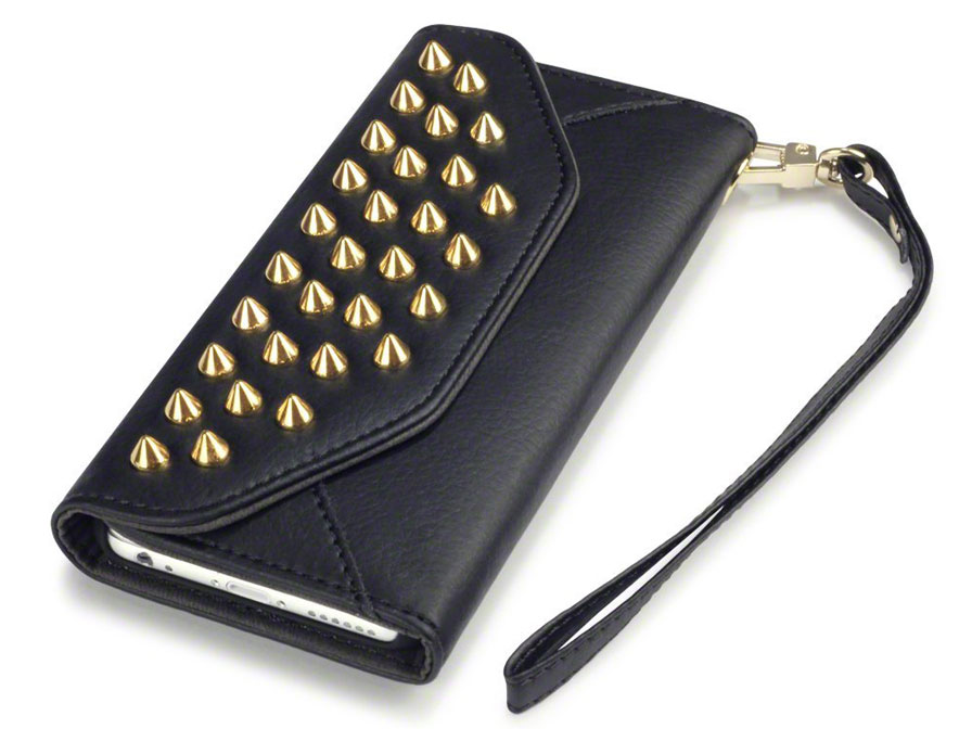Covert Studded Trifold Wallet - Hoesje voor iPhone 6/6S
