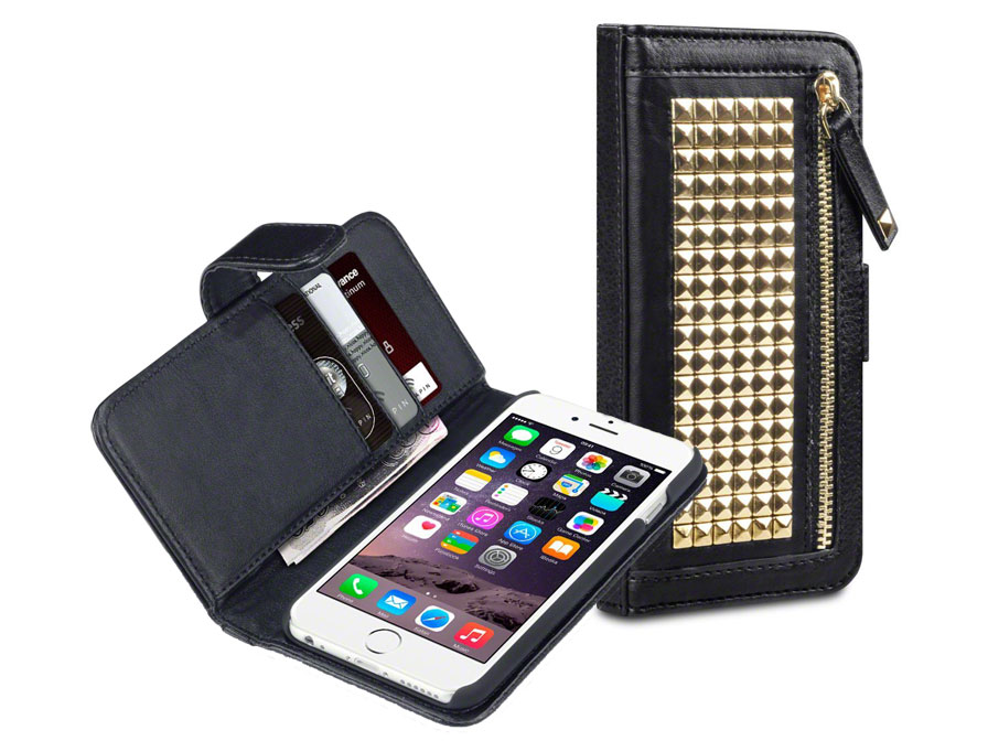 Covert Roxie Studded Wallet Case - iPhone 6/6S hoesje