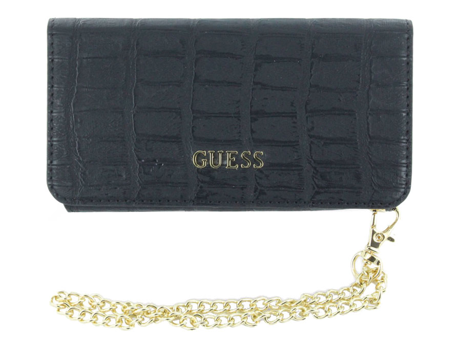 Guess Matte Croco Clutch Case - iPhone 6/6s hoesje