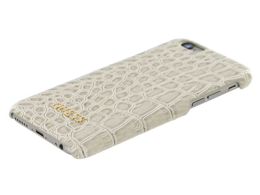 Guess Glossy Croco Case - iPhone 6/6s hoesje