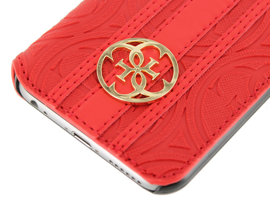 Guess Heritage Folio Bookcase - iPhone 6/6S hoesje