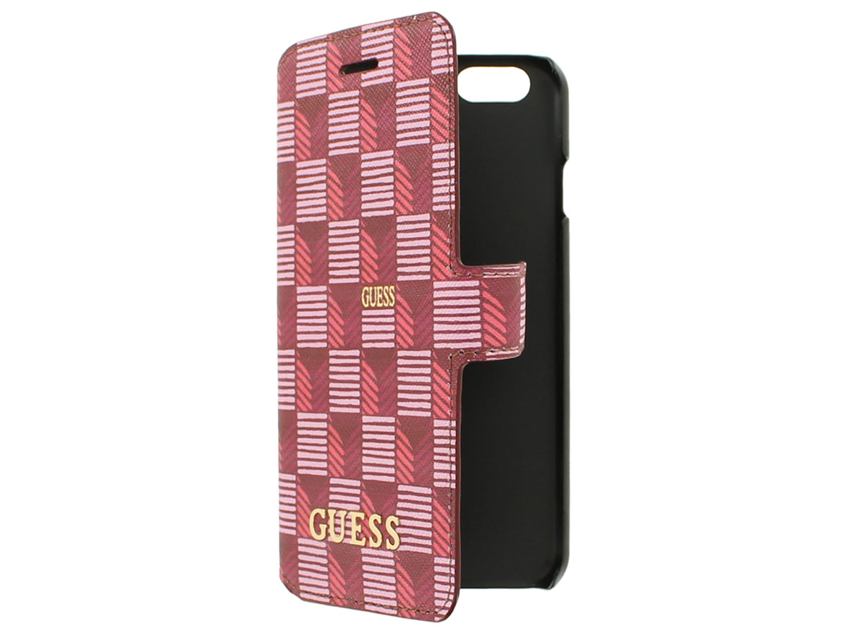 Guess Jetset Bookcase - iPhone 6/6s hoesje