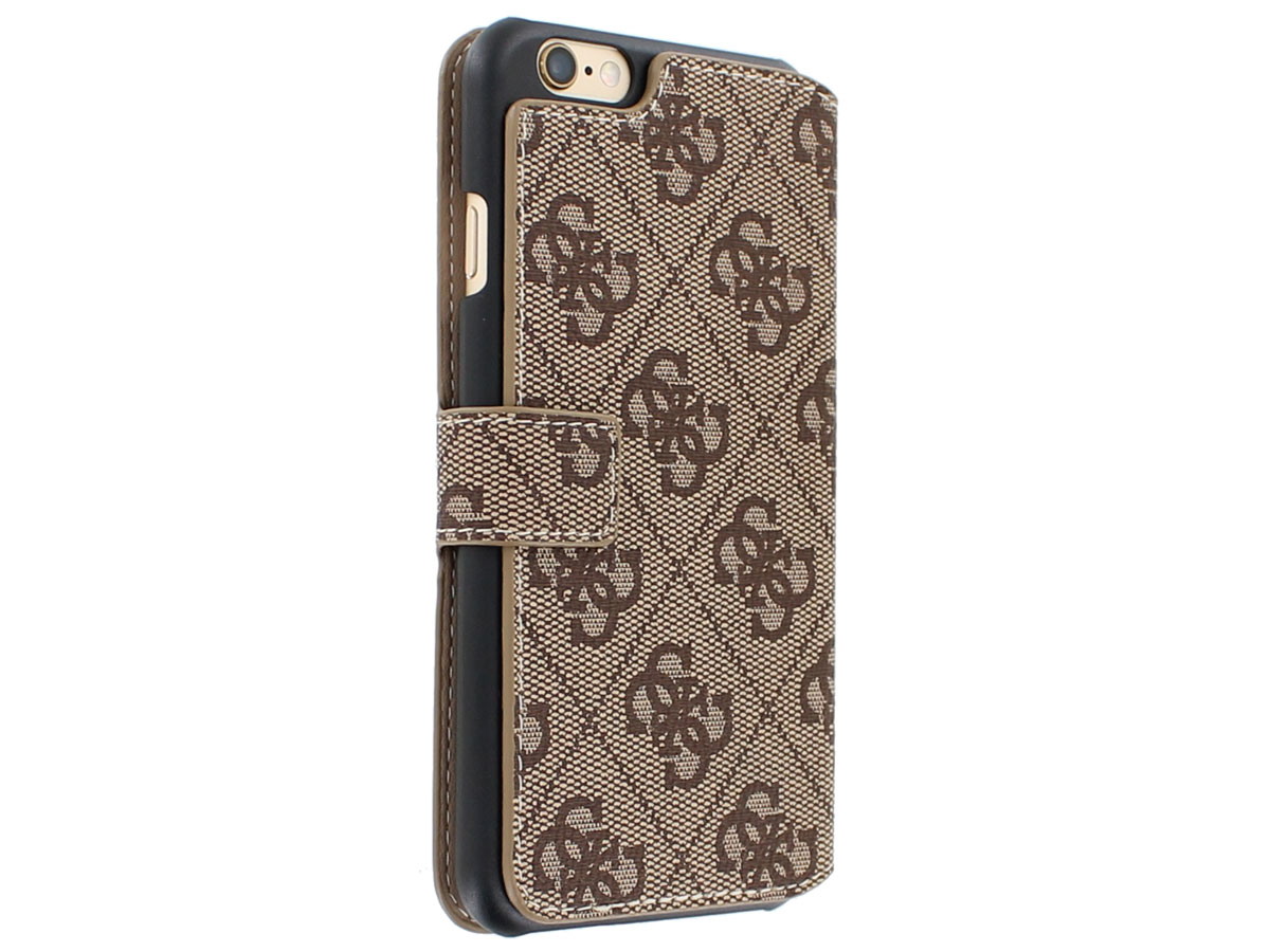 Guess Monogram Folio Case - iPhone 6/6S hoesje