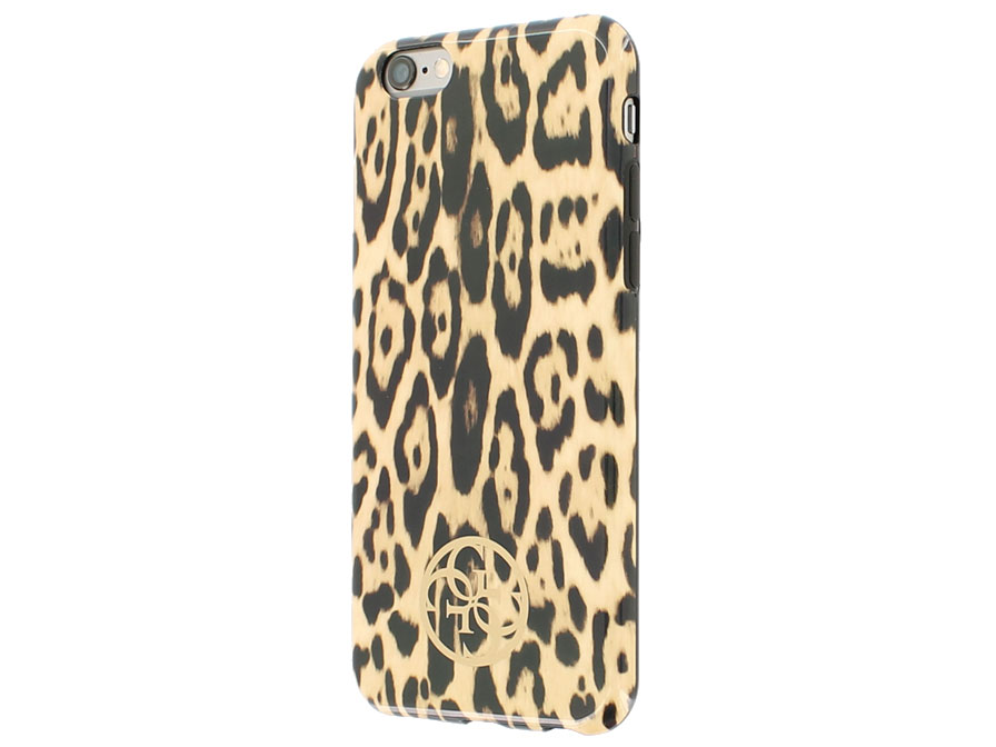 Guess Leopard TPU Case - iPhone 6/6s Hoesje
