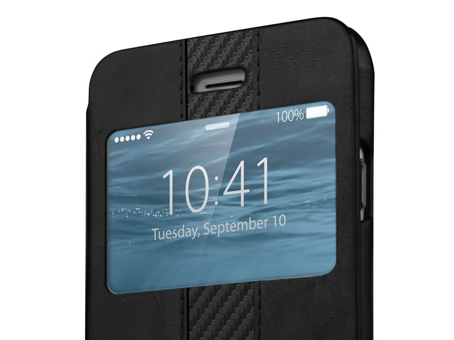 ITSKINS Visionary Carbon Window Case - iPhone 6/6S case