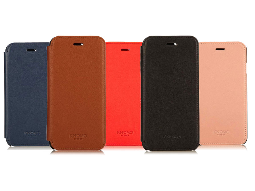 buy online 18809 a66cc Knomo Leather Folio - Sideflip Case voor iPhone 6/6S