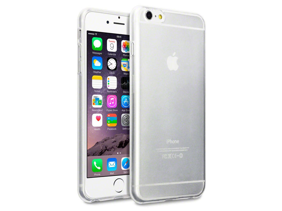LG lg phone cases or covers : Crystal TPU Case - Doorzichtig Hoesje voor iPhone 6/6S