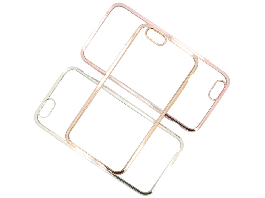 Crystal Edge TPU Case - Doorzichtig iPhone 6/6S Hoesje