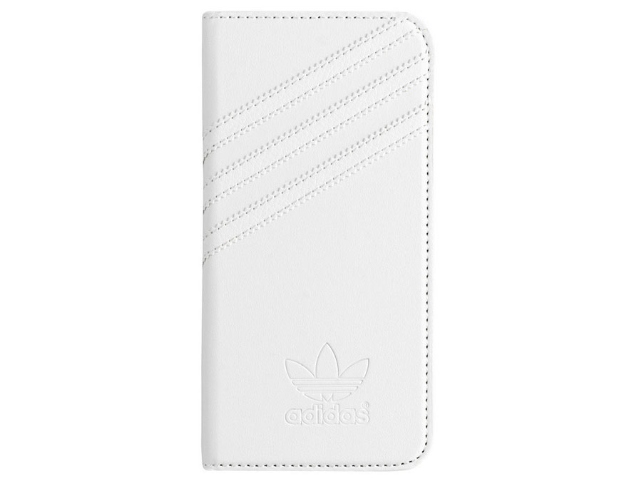 adidas Full White Booklet Case - iPhone 6/6s hoesje