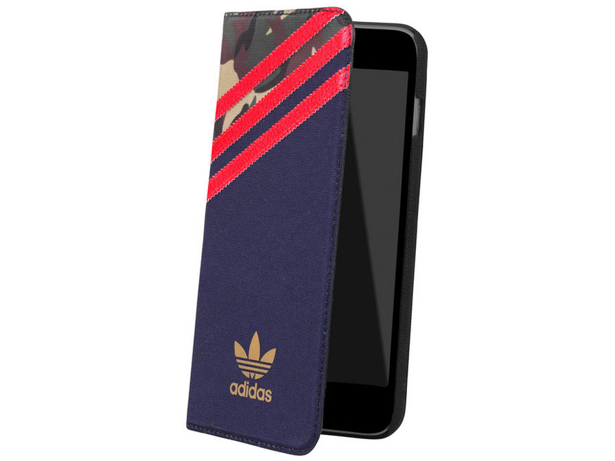 adidas Originals Camouflage Book - iPhone 6/6s hoesje