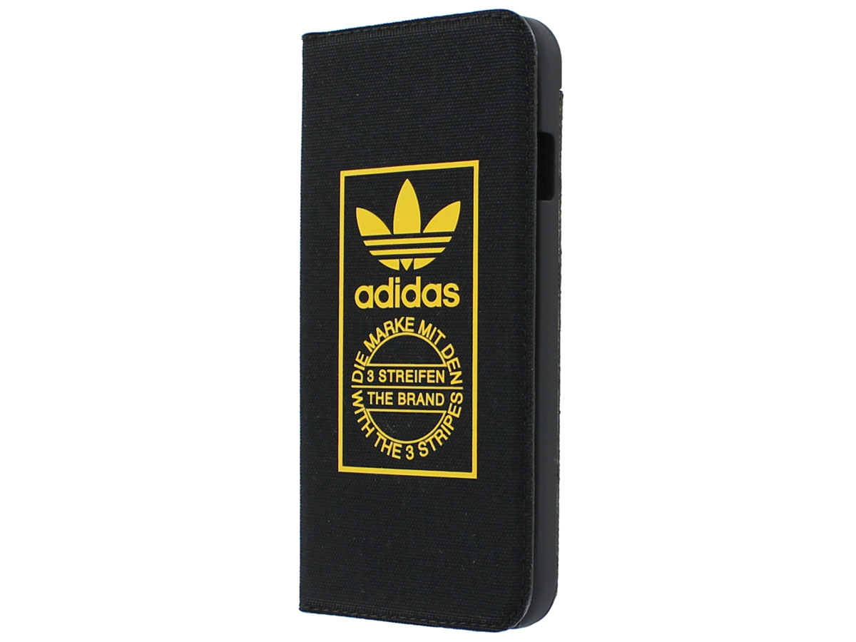 adidas Black Booklet Case - iPhone 6/6s hoesje