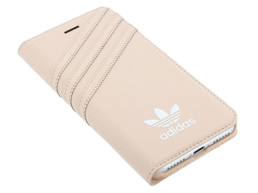 adidas Vintage Booklet Case Roze - iPhone 6/6s hoesje
