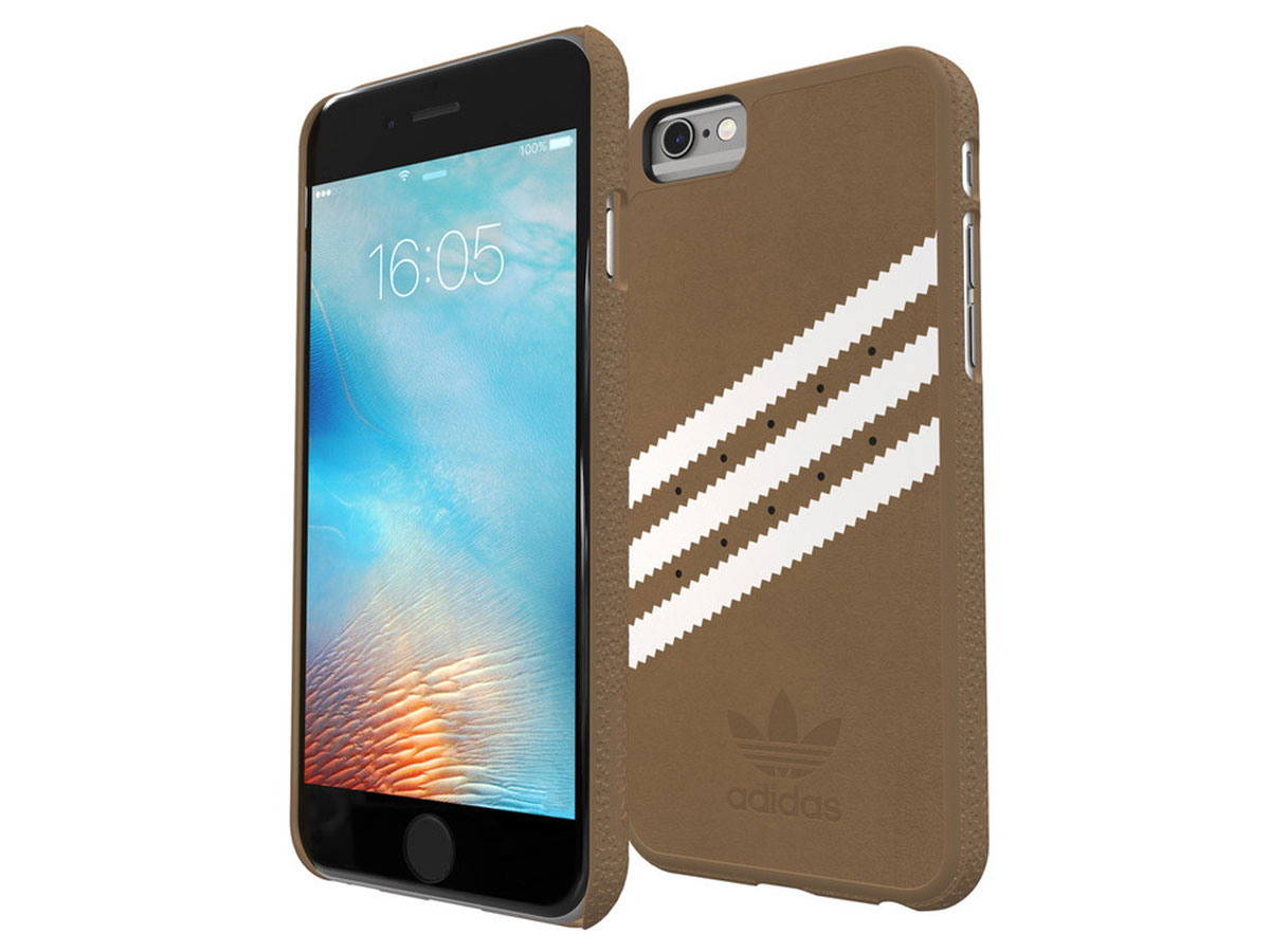 adidas Originals Brown Suede Case - iPhone 6/6s hoesje