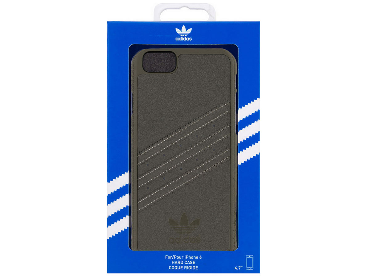 adidas Originals Suede Case Grijs - iPhone 6/6S Hoesje