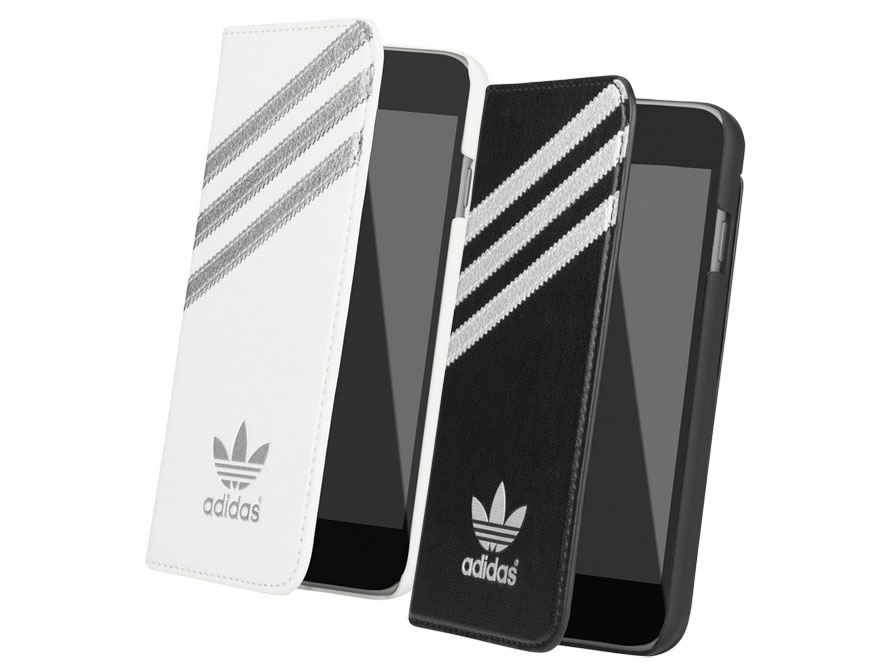 adidas Originals Silver Booklet Case - Hoesje voor iPhone 6/6S