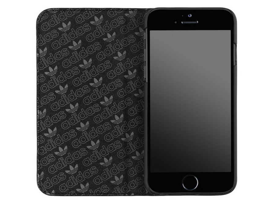 adidas Originals Full Black Book Case - Hoesje voor iPhone 6/6S
