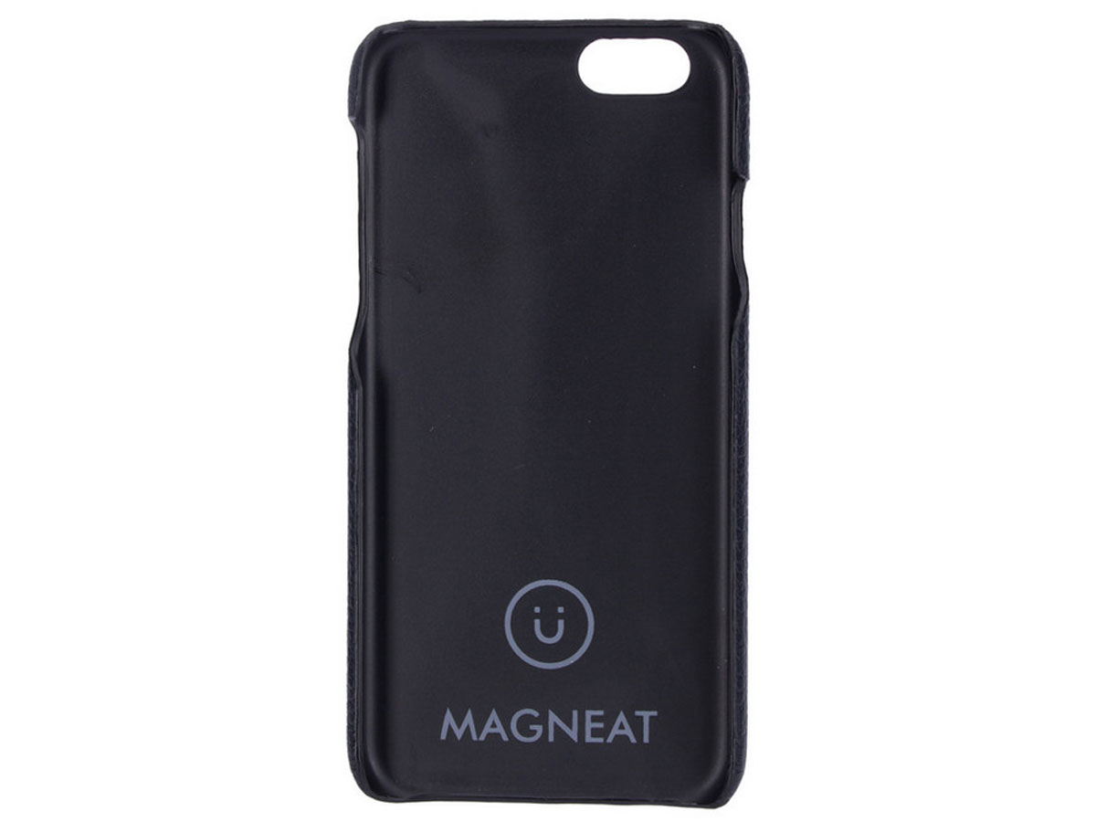 Agna Magneat 2in1 Case Zwart Leer - iPhone 6/6s hoesje