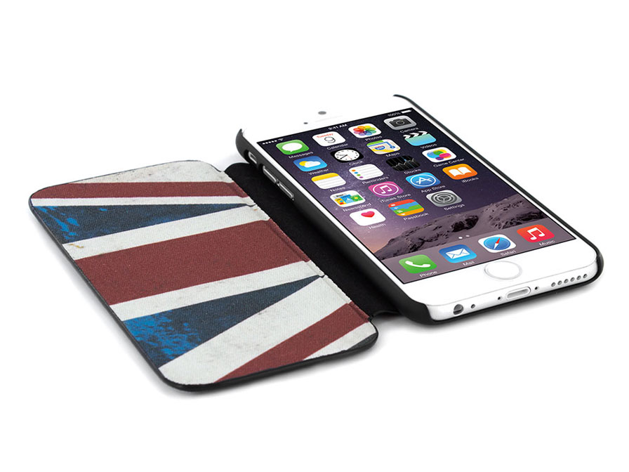 Barbour International Union Jack Folio Case - iPhone 6/6S hoesje