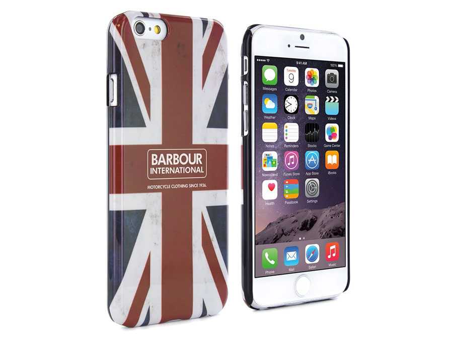 Barbour International Union Jack Case - iPhone 6/6S hoesje