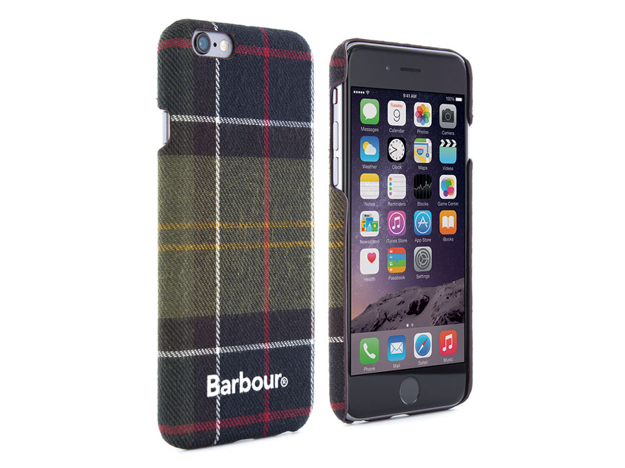 Barbour Tartan Wrapped Hard Case - iPhone 6/6S hoesje