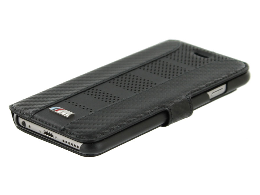 BMW M Carbon Book Case - iPhone 6/6S hoesje