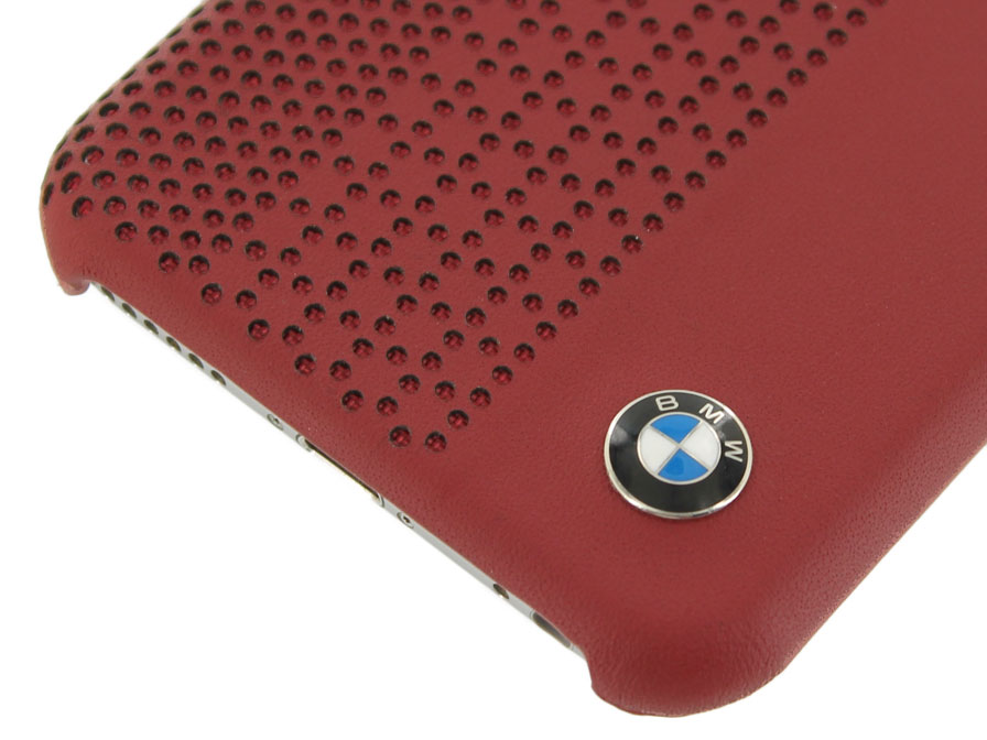 BMW Perforated Leather Hardcase - iPhone 6/6S hoesje