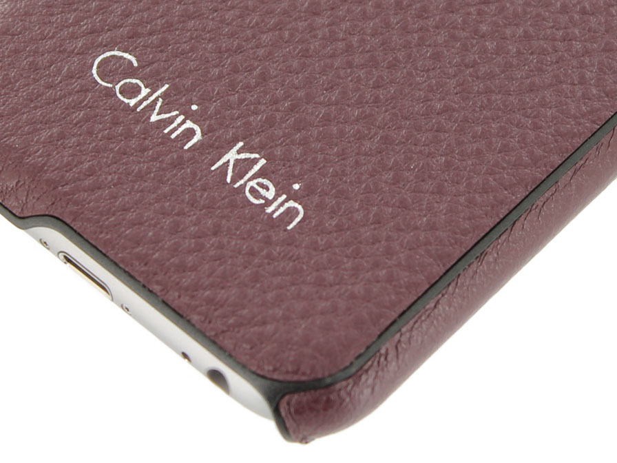 Calvin Klein Kate Leren Case - iPhone 6/6S hoesje