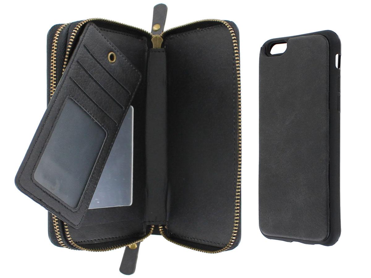 829c0616ae2 Smartphone Wallet met Magnetic iPhone 6/6s hoesje Zwart