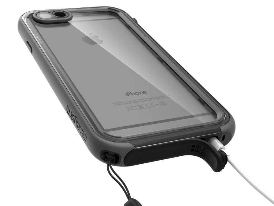 Catalyst Waterdichte Case - iPhone 6/6s hoesje (Zwart)