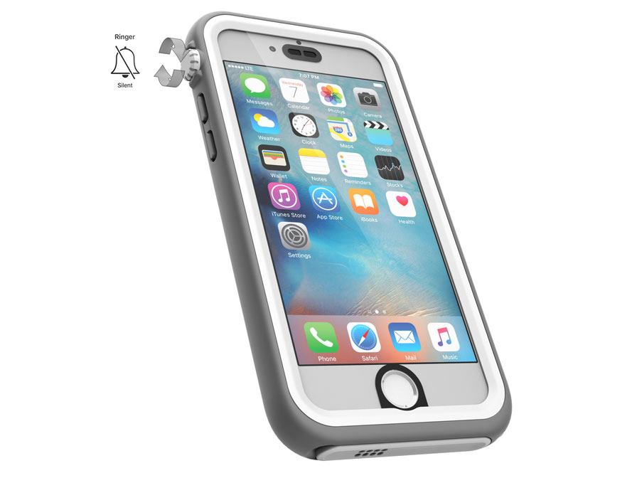 Catalyst Waterdichte Case - iPhone 6/6s hoesje (Wit)