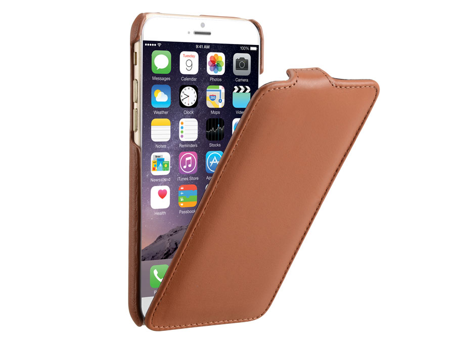 Decoded Leather Flip Case - iPhone 6/6S hoesje Leer