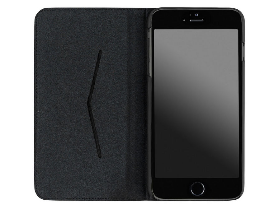Diesel Black Denim Bookcase - iPhone 6/6s hoesje
