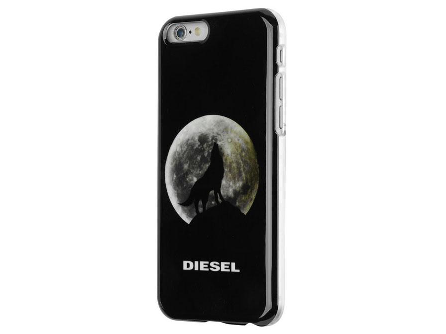Diesel Pluton Wolf Case - iPhone 6/6S hoesje Zwart