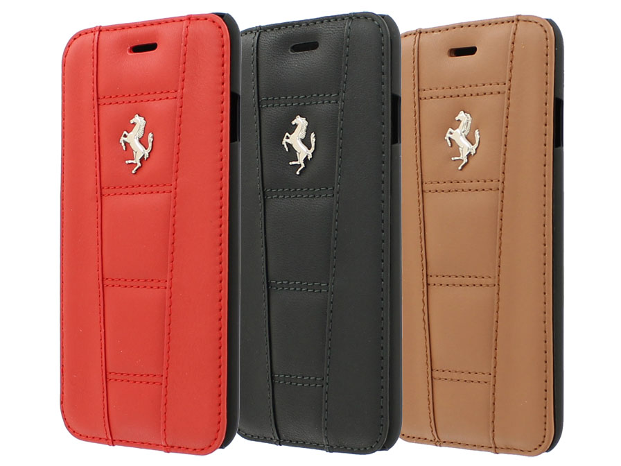 Ferrari 458 Series Book Case - Leren iPhone 6/6S hoesje