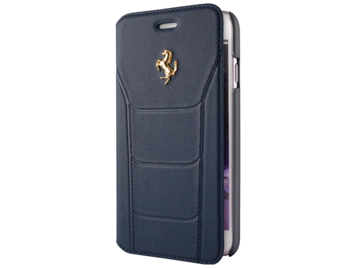 Ferrari 488 Classic Bookcase - Leren iPhone 6/6s hoesje Donkerblauw